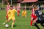 Fotbalisté VKK (žluté dresy). Ilustrační foto