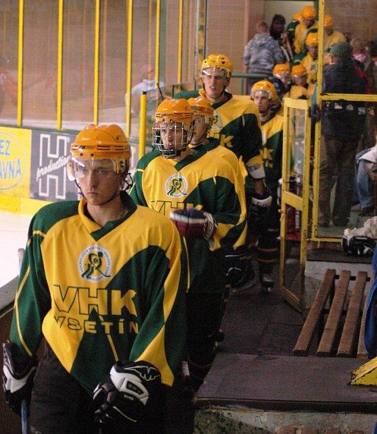 Hokejisté Vsetína.