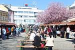 Na Zelený čtvrtek ožilo vsetínské Dolní náměstí Valašskými Velikonocemi. Kromě kulturního zážitku si návštěvníci odnesli rozmanité zboží z jarmarku.
