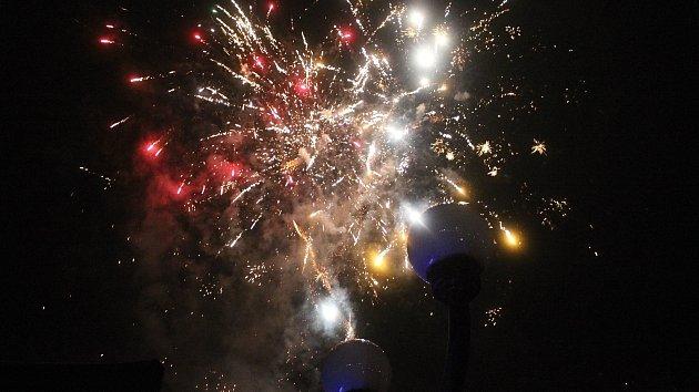 Vítání nového roku 2018 ve Vsetíně