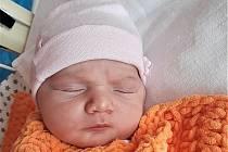 Nicol Rušarová, Poličná, narozena 10. června 2021 ve Valašském Meziříčí, míra 52 cm, váha 3930 g