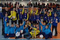 Úspěšní mladí hasiči z Hutiska-Solance.