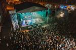 Hlavní scéna festivalu United ve Vsetíně.