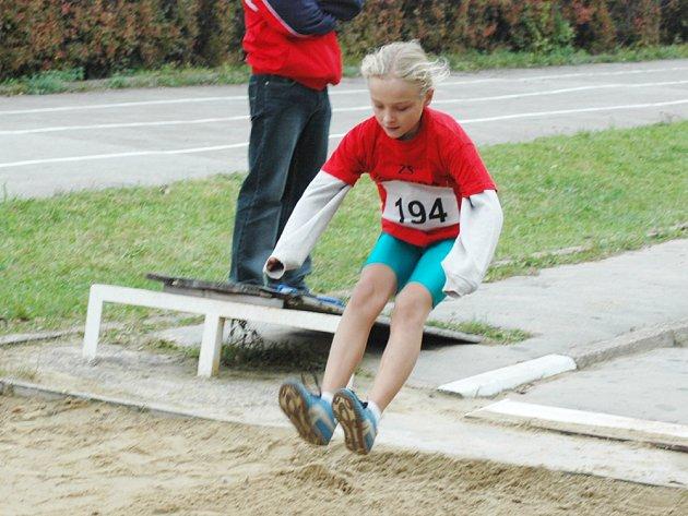 Atletické závody na Ohradě