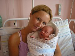 Lenka Lehnertová, Malhotice, syn Davidek Lehnert, 50 cm, 3, 75 kg, narozen 12.7.2011 ve Valašském Meziříčí