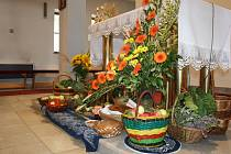 Vycházelo se od hospůdky U Kačinů. Průvod pokračoval až na konec obce ke kostelu.