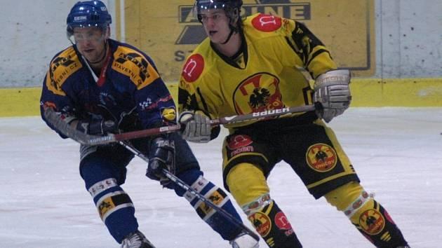 Hokejisté Valašského Meziříčí proti Uničovu