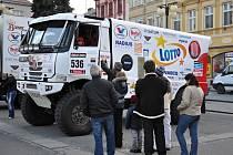 Na náměstí ve Valašském Meziříčí se v sobotu 8. března 2014 uskutečnil program nazvaný Dakarské odpoledne.