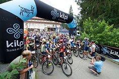 Bike Valachy 2018. Na startu.