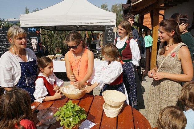 Farmářský den Valašského ekocentra se ovíkendu těšil hojné účasti.