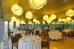 Restaurace hotelu Lanterna.