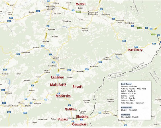 Prepisme Mapu Valasska Valassky Denik