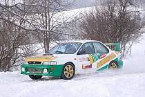 Rally Valašská zima. Ilustrační foto.