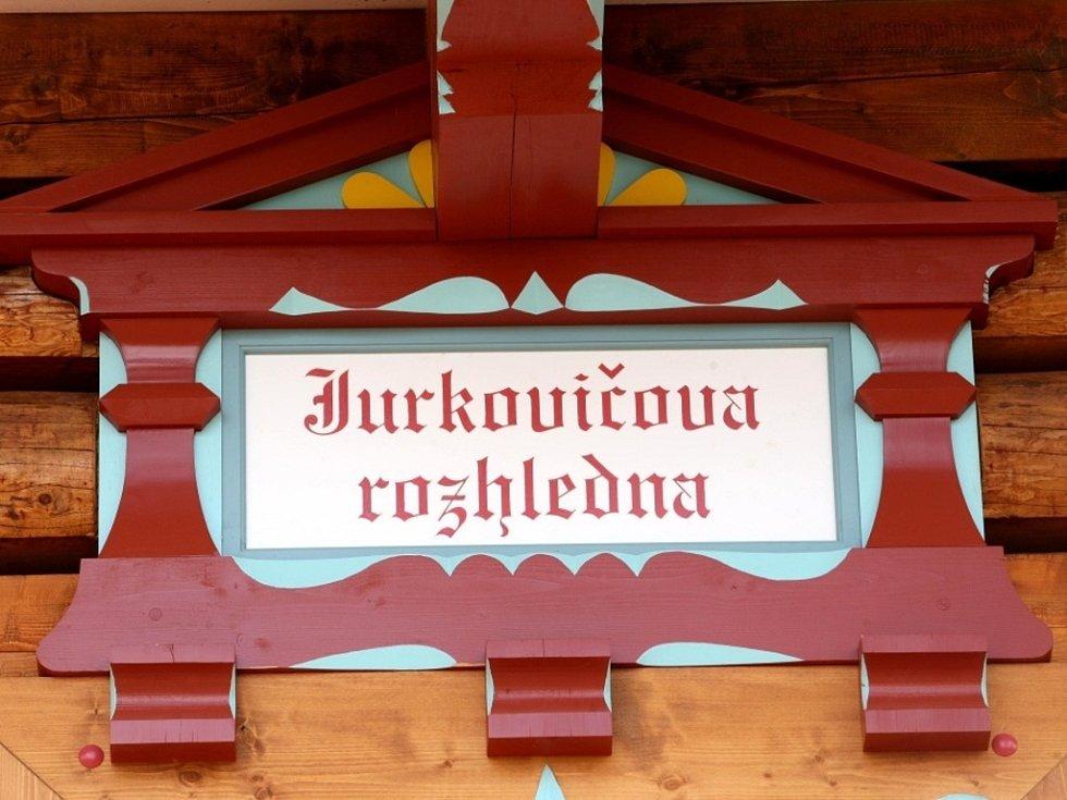 Jurkovičova rozhledna v Rožnově pod Radhoštěm