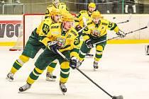 Hokejisté Vsetína se výhrou v Břeclavi přiblížili významným způsobem účasti v play off.