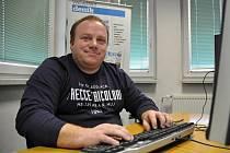 Jaromír Tomaštík při ON-LINE rozhovoru v redakci Valašského deníku.