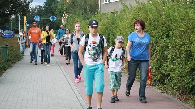 Základní škola Vyhlídka ve Valašském Meziříčí. Ilustrační foto.