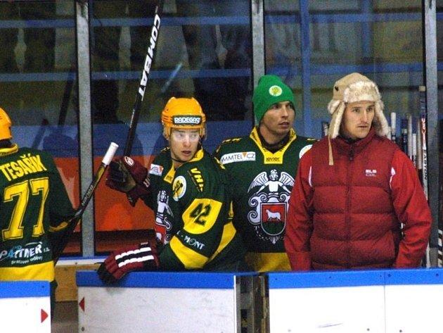 Druholigoví hokejisté Vsetína.