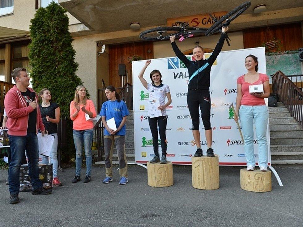 Valachy Tour 2013. Absolutní vítězky v kategorii ženy.