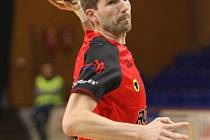 Extraligový házenkář Zubří Miroslav Jurka dal v odvetě Evropského poháru 10 branek.