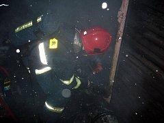 Ohořelé tělo muže objevili v neděli večer hasiči při likvidaci požáru zahradní chatky v Rožnově pod Radhoštěm. Jeho totožnost nyní zjišťují policisté.