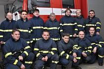 Rožnovští hasiči.