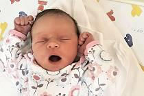 Eliška Lujková, Všechovice, narozena 2. září 2020 ve Valašském Meziříčí, míra 50 cm, váha 3500 g