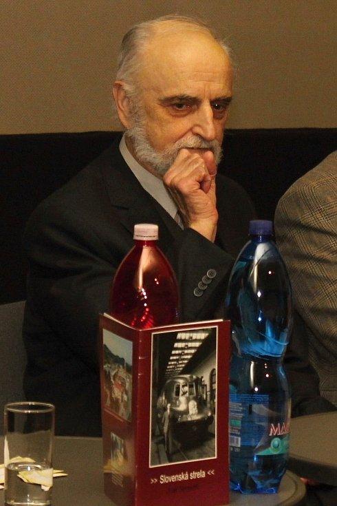 Tomáš Sousedík, syn továrníka a vynálezce Josefa Sousedíka, který vyvinul unikátní pohon legendárního vlaku Slovenské strela.