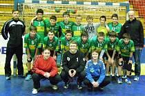 Starší žáci Zubří vyhráli domácí první turnaj Žákovské ligy.