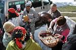 Masopustní obchůzka ve Francově Lhotě na Hornolidečsku