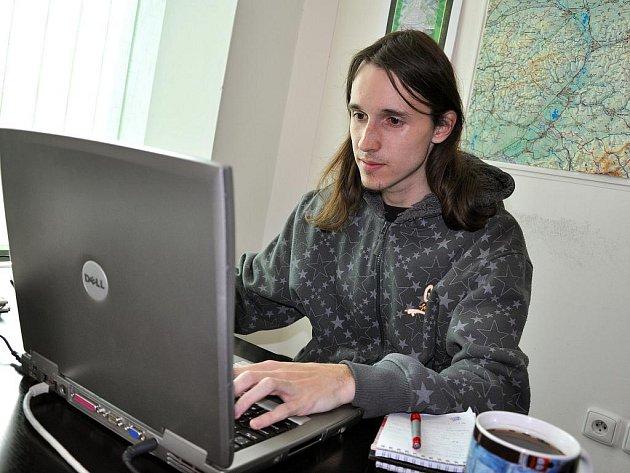 Redaktor Valašského deníku Martin Fojtík