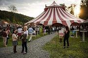 Týden kultury na Valašsku: šapitó