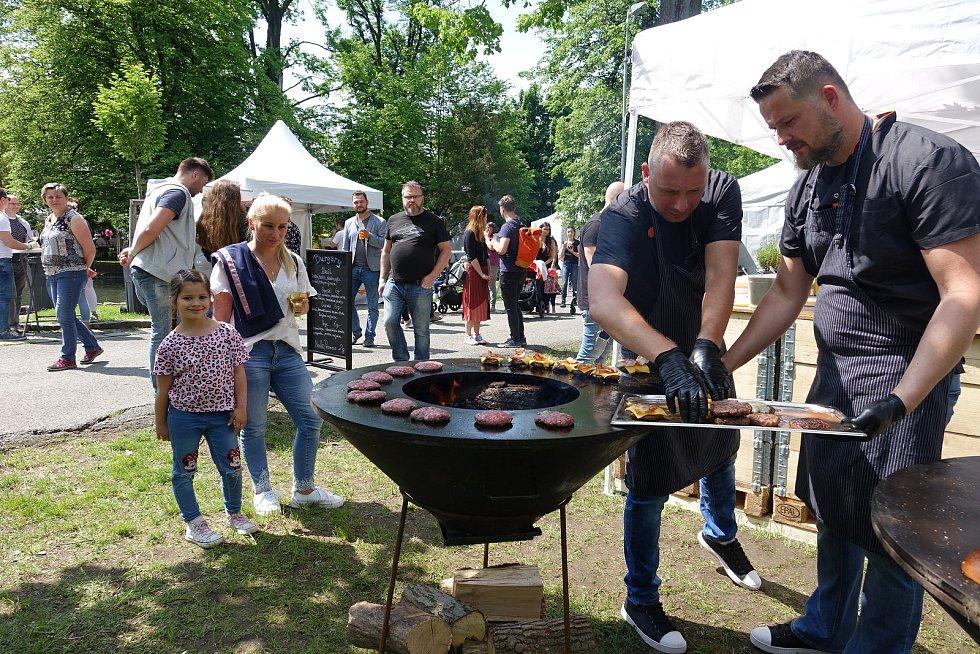 Garden Food Festival 2019 v rožnovském parku.