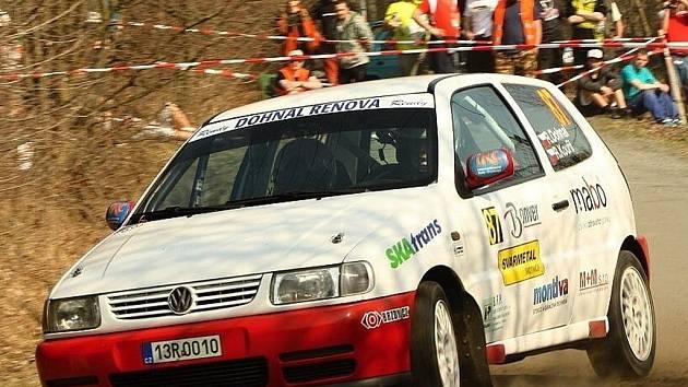 Valašská rally: René Dohnal.