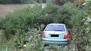 Dopravní nehoda dvou osobních vozidel u Liptálu