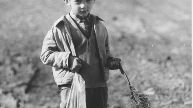 Na šmigrustu. Valašsko, 2. polovina 20. století.