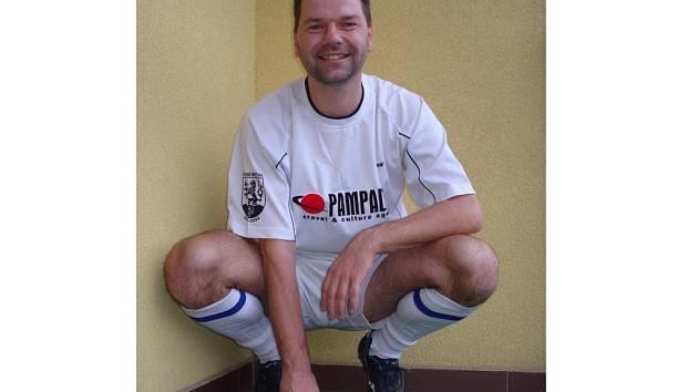 Petr Babiš, obránce Dolní Bečvy B.