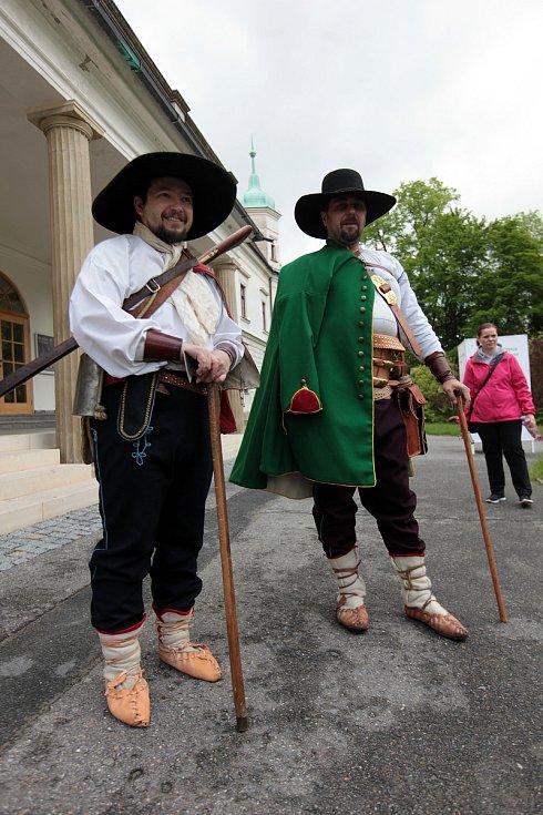 Portáši se v sobotu vydali ze Vsetína do Valašské Bystřice.