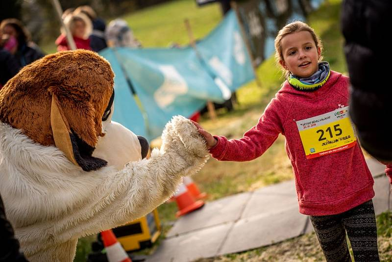 Běhej Valachy, podzim 2018: dětský závod