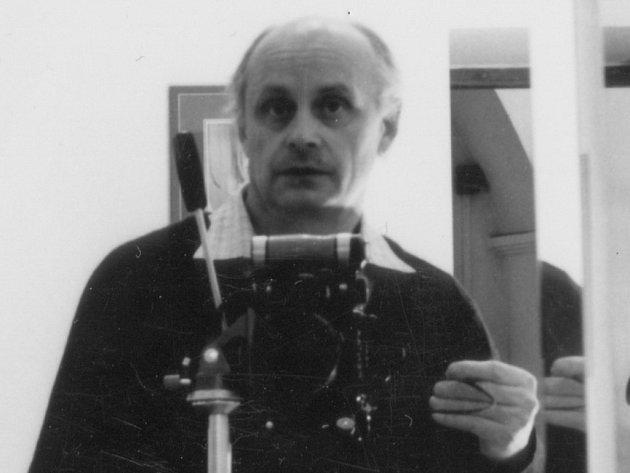 M. Langer – autoportrét.