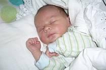 Patrik Pšenica, míra 52 cm, váha 3900 g, Zubří, narozen 12.07.2012 ve Valašském Meziříčí