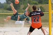 V Dolní Bečvě se bude hráýt turnaj v plážovém fotbale.