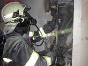 Požár rozvaděče v rodinném domě ve Valašském Meziříčí v místní části Brňov
