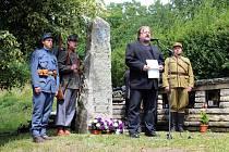 Památník padlým za první světové války odhalili vsobotu 23. června 2018 na hřbitově vÚstí u Vsetína. Slavnostní odhalení uspořádala obec vrámci oslav stého výročí konce první světové války.