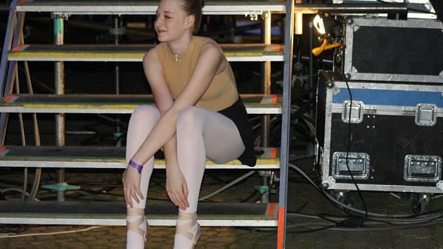 Pódium pro vystoupení. Ilustrační foto.