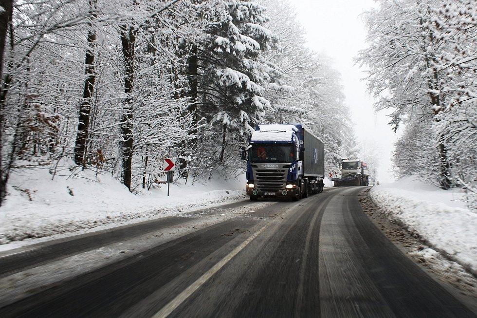 Zasněžené Valašsko 28. ledna 2019