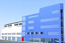 Vizualizace nové budovy střední školy Kostka a univerzity Humanitas ve Vsetíně.