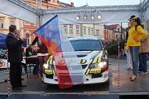 Valašská rallye. Ilustrační foto.