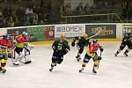 Vsetín vs. České Budějovice - první zápas semifinále