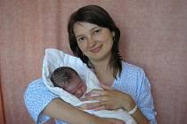 Miroslava Novosádová, Vsetín, dcera Eliška Novosádová, hmotnost: 3,50 kg, narozena 22. července 2009 ve Valašském Meziříčí